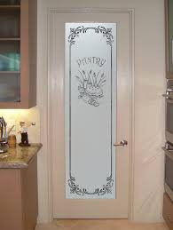 white frosted glass interior doors kitchen