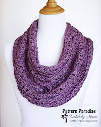 Free Crochet Patterns For Scarves Unique Free Crochet Pattern Eve's Scarf Pattern Paradise