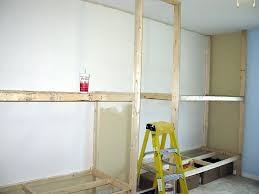 how to build bunk beds into the wall diy for 18 dolls best home ideas plans free homemade with storage bui