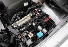 functional test of cable harnesses incl relay box weetech inc relay and fuse box in a passenger car