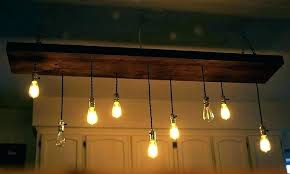 edison bulb multi light pendant simple 6 black led large brushed nickel lighting excellent mu