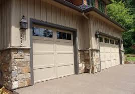 wood veneer garage doors stone veneer installation over an existing metal garage door