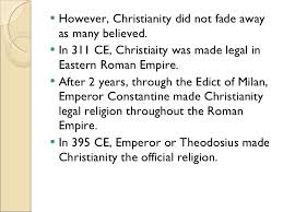 the rise and sp of christianity  8