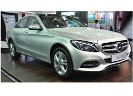 new car launches in bangaloreNew MercedesBenz CClass showcased in Bangalore Expected to be