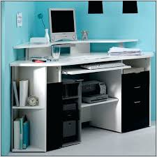 full image for corner computer desks with storage edge water computer desk with 3 storage drawers