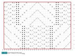 Frost Flowers Knitting Chart Knittingsttiches Knitting