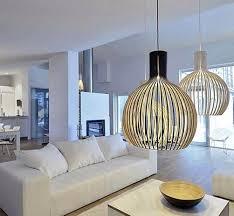 pendant lighting for living room. Inspiring White Living Room Modern Lighting Cage Shaped Pendant Fixtures Over A Lights.jpg For