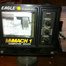 Eagle By Lowrance Mach 1 Computer Graph On Popscreen