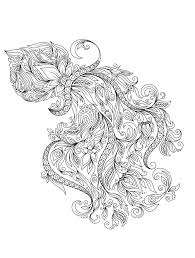 Remarkable Coloring Pages For Adults Printable Animals Free Only