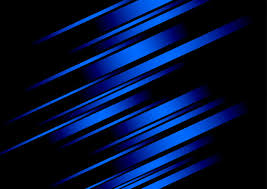 Abstract Blue Line And Black Background For Business Card