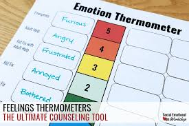 A Feelings Thermometer Is The Ultimate Counseling Tool