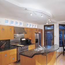 Modern Kitchen Track Lighting Interior Tech Lighting Modern Kitchen Ideas With Yellowish