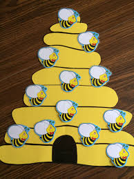 My Busy Bee Attendance Chart Toddler Sunday School