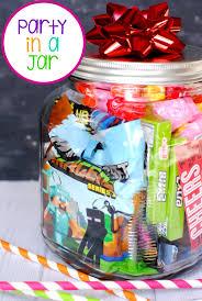 a party in a jar birthday fun birthday gift idea