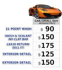 mobile detail pricing san go auto