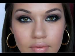 mila kunis smoky eyes makeup tutorial eman