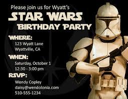 Star Wars Birthday Invitations Free Printable Magdalene