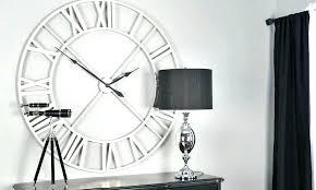 oversized wall clocks uk big modern wall clocks extra large modern wall clocks clocks very large