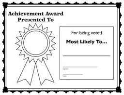 Superlative Certificate Enjoy Some End Of The Year Fun With This Superlative Award