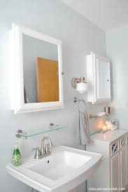 remarkable small bathroom with pedestal sink on sinks