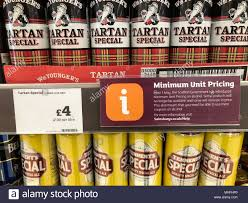 Alcohol For Sale In A Stirling Supermarket As Scotland Has Become