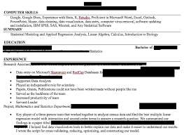 People Who Do Resumes Cool Statistics Major Resume Review Resumes