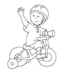 Bicycle Coloring Pages Preschool House Bike Safety Book As Well