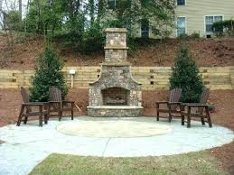 how much does an outdoor fireplace cost outdoor fireplace s