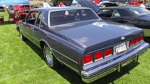 1984 Chevrolet Caprice Classic coupe - YouTube