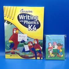 Abeka K4 Little Owl Readers 1 8 Writing W Phonics