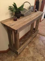 pallet furniture etsy. pallet console table furniture etsy w
