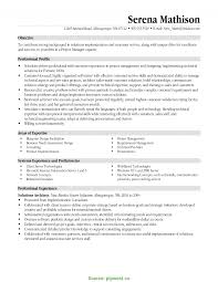 Regular Resume Construction Project Manager Objective Statement
