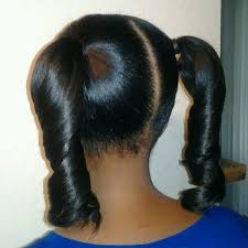 Image result for girl with 2 ponytails