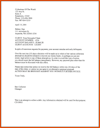 Delinquent Account Letter Template 10 Delinquent Account Letter Far Wake