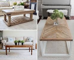 The foot of the table is used from the legs of an old sewing machin. 45 Best Diy Coffee Table Ideas To Make On A Budget