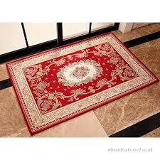 stillshine italy jacquard craft square polyester non slip rug carpet door mats elegant door mat with