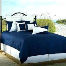 amazing navy blue and white comforter sets 7pc microfiber nautical themed set striped full queen