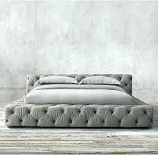 Low Bed Platform Frame Low Platform Bed Frame And Mattress Tall ...