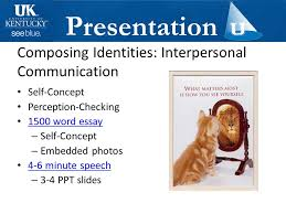 faculty uk dr deanna sellnow ppt composing identities interpersonal communication