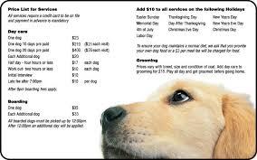 Pets At Play Richmond Va Services Pricelist