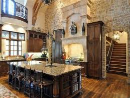 Stone Kitchen Rustic Stone Kitchen Backsplash Outofhome