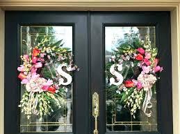 hanging wreath on door hanging wreath on door post hanging wreath glass door hanging wreath