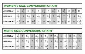 Rieker Shoe Size Chart Size Chart