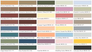 1966 Mustang Interior Paint Chart