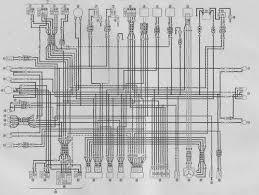 yamaha virago xv535 1100 1981 1994 service manual pdf download yamaha virago 750 wiring diagram at 750 Yamaha Virago Wiring Diagram