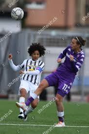 Sara Gama Juventus WomenValery Vigilucci Fiorentina Femminile  Redaktionelles Stockfoto – Stockbild