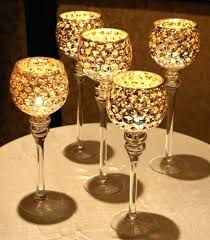 gold mercury candle holders.  Holders Gold Mercury Candle Holders Glass Votives Intended V