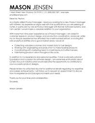 Sample Cover Letter For Product Manager Guamreview Com