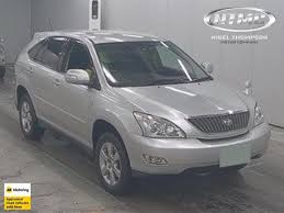 2005 toyota harrier tiptronic 3000cc from endacott motor group car page