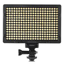 pt 308s portable ultra thin led light 5600k 2400 lumens dimmable